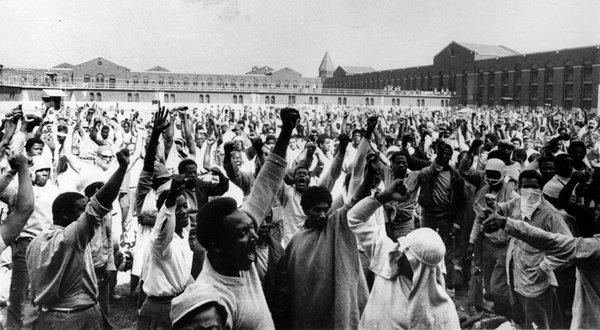 ABD Hapishanesindeki Siyah Attica İsyanının Yıldönümü