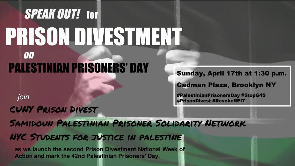 prisoners day flyer