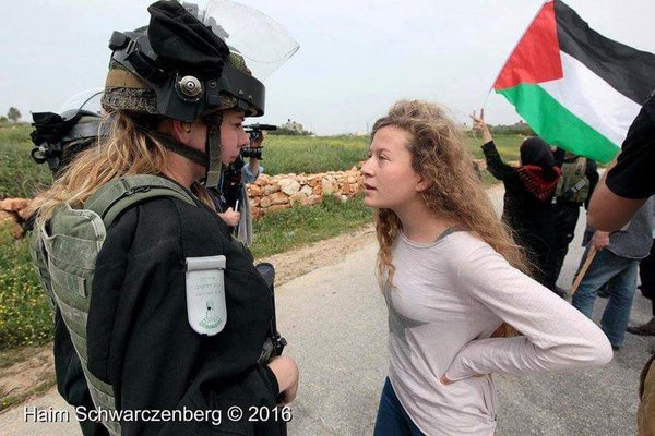 Image result for pictures ahed tamimi